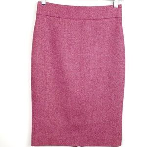 J. Crew No. 2 wool blend Pencil Skirt